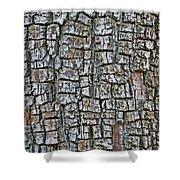 Juniper Bark- Texture Collection Shower Curtain