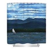 Juniper Island Lake Champlain Vt/ny Shower Curtain