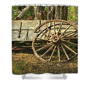 Junk Wagon Shower Curtain