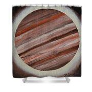 Jupiter Spectral Shower Curtain