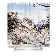 Jupiter Terrace Yellowstone Np Shower Curtain