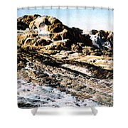 Jupiter Terrace Yellowstone Np 1928 Shower Curtain