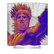 Jupiter - Zeus Shower Curtain
