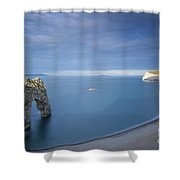 Jurassic Coast - Durdle Door Shower Curtain