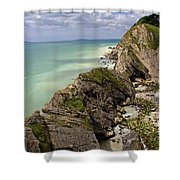 Jurassic Coast From Lulworth Cove Shower Curtain