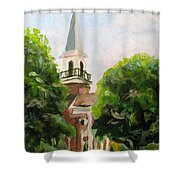 Just A Closer Walk With Thee Shower Curtain