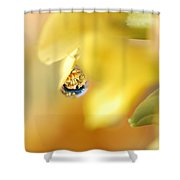 Just A Drop Of Spring Shower Curtain