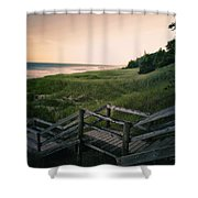 Just A Few More Steps To The Lake Shower Curtain