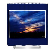 Just About Night Shower Curtain