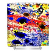 Just Abstract Shower Curtain