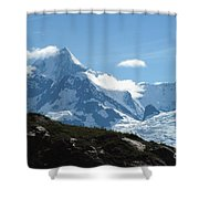 Just Another Snow-capped Mt Shower Curtain