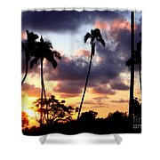 Just Another Sunrise In Paradise Shower Curtain