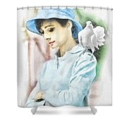 Just Audrey Shower Curtain
