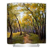 Just Before Autumn Shower Curtain