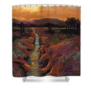 Just Before Sunset Shower Curtain