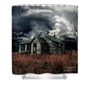 Just Before The Storm Shower Curtain