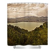 Just Before The Storm - Ardales Shower Curtain