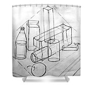 Just For Practice Shower Curtain