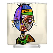 Just Me Shower Curtain