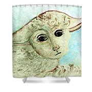 Just One Little Lamb Shower Curtain
