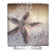 Just One Starfish Shower Curtain