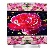 Just Rosy Shower Curtain