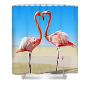 Just We Two Shower Curtain