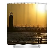 Just You And Me Shower Curtain