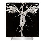Justified  Shower Curtain