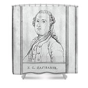 Justus Zachariae (1726-1777) Shower Curtain