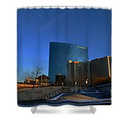 Jw Marriott On The Canal Indianapolis Shower Curtain