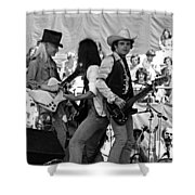 Jwinter #17 Crop 2 Shower Curtain
