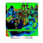 Jwinter #9 Enhanced Colors 1 Shower Curtain