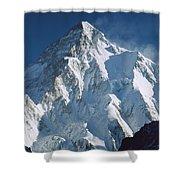 K2 At Dawn Pakistan Shower Curtain
