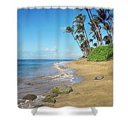 Ka'anapali Beach Shower Curtain