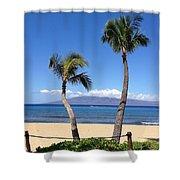 Kaanapali Maui Shower Curtain