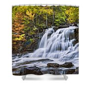 Kaaterskill Falls Shower Curtain