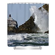 Kaboom Shower Curtain