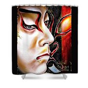 Kabuki Three Shower Curtain