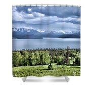 Kachemak Bay Shower Curtain