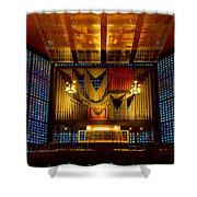 Kaiser Wilhelm Church Organ Shower Curtain