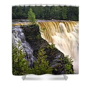 Kakabeka Falls On The Kaministiquia River Shower Curtain