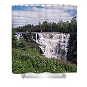 Kakabeka Falls Shower Curtain