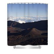 Kalahaku Overlook Haleakala Maui Hawaii Shower Curtain