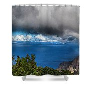 Kalalau Outlook  Shower Curtain