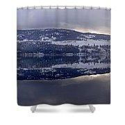Sunset Kalamalka Lake - British Columbia Shower Curtain
