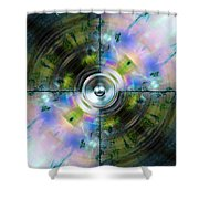 Kaleido 6 Shower Curtain