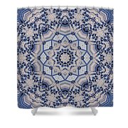 Kaleidoscope 16 Shower Curtain