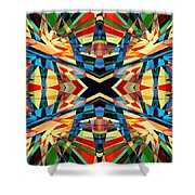 Kaleidoscope 2 Shower Curtain