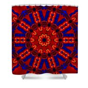 Kaleidoscope 36 Shower Curtain